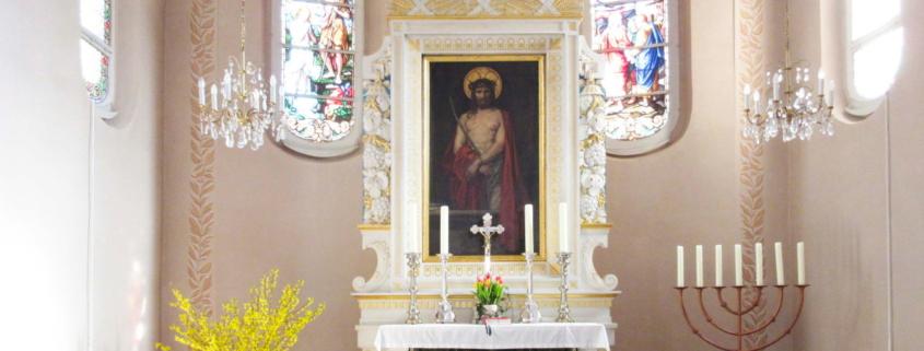 Trinitatiskirche Ernstthal Chorraum