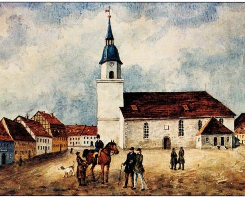 Kirche Ernstthal 1842