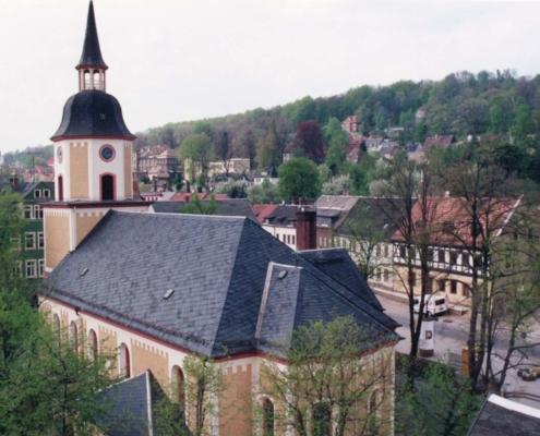 Kirche Ernstthal 1994