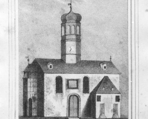 Kirche Ernstthal vor 1838