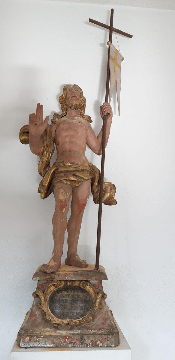 Kirche Wüstenbrand - Auferstandener Christus