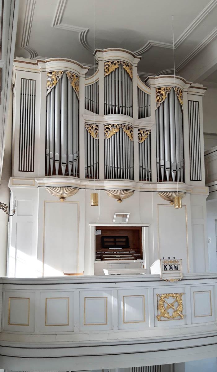 Kirche Wüstenbrand - Orgel